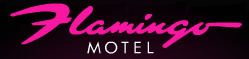 Logotipo do Motel Flamingo